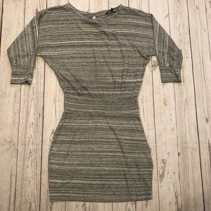 Express dress XS oversized top fitted skirt